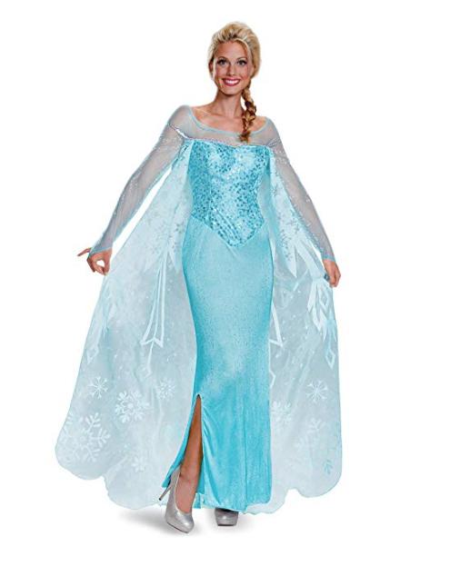 Disney princess Frozen Elsa dresses for your Halloween wedding
