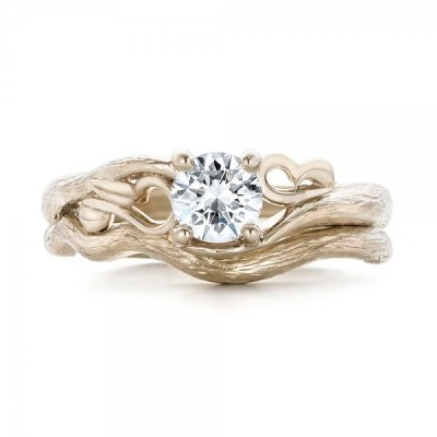 Here's why thinking about your wedding band BEFORE buying an engagement ring pays off (& ideas from Joseph Jewelry!)