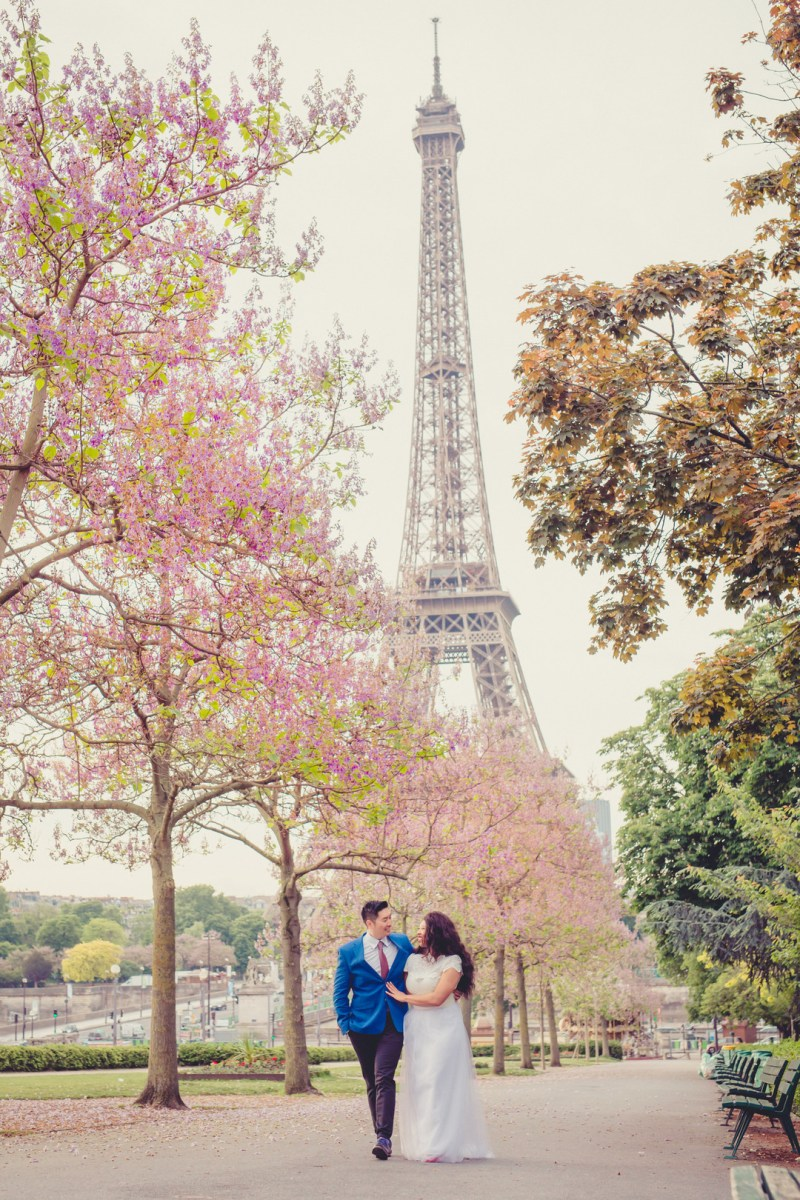 If these aren't the dreamiest Paris engagement photos, I'll eat my chapeau
