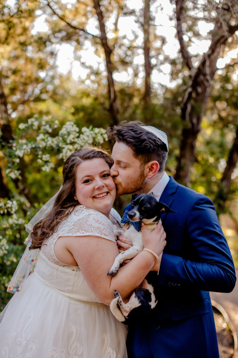 This quirky Austin wedding had tons of color & even more style