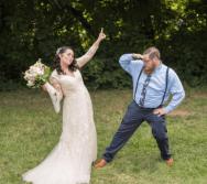 amazon wedding dress seen on offbeat bride