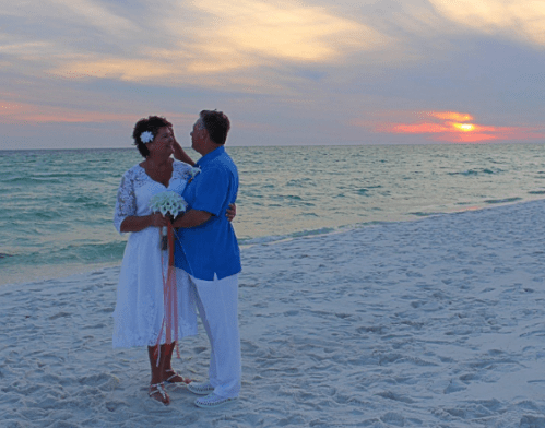 abaowedding beach wedding dress on offbeat bride