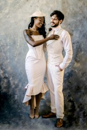 Dark Garden wedding Couture Loic Nicolas mens corset