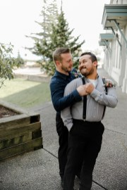 Grooms just married