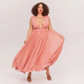 fame and partners allegra bridesmaid dress on offbeat bride