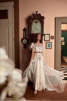BHLDN wedding gowns via Offbeat Bride