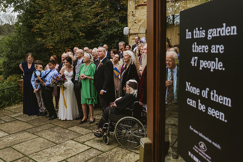 Nobody expects the Spanish Inquisition (or this utterly bonkers Monty Python-themed wedding!)