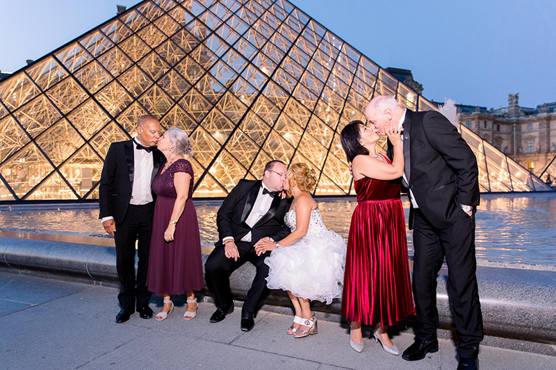 After 25 years and a second chance at life, this silver wedding anniversary in Paris is sublime