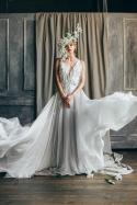 MywonyBridal backless wedding dress on offbeat bride
