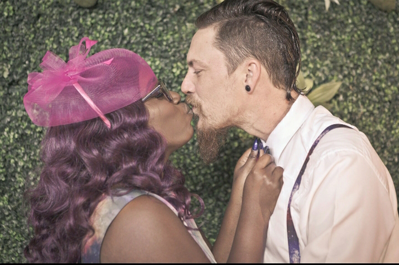 This meet-cute story turned galaxy wedding is truly our moon and stars