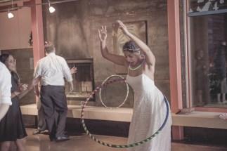 Atypical Events Bride hula hoop