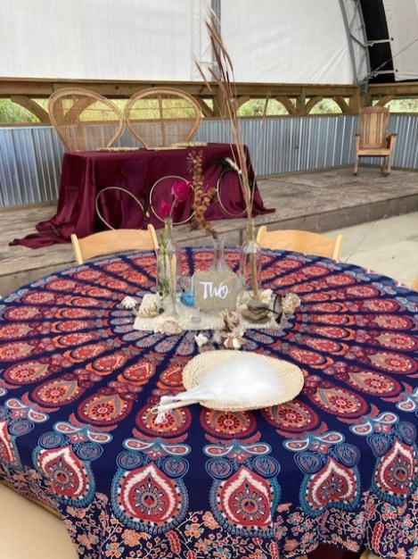 Atypical Events boho table