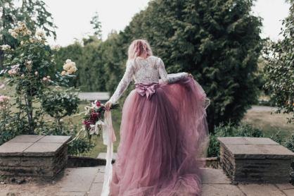 wedding skirt by sweetcarolinestyles as seen on offbeat bride
