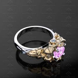 goth wedding rings by Sapphire Studios Design on offbeat bride (3)