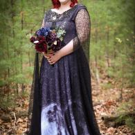 Gothic wedding dresses by WulgariaStore on Offbeat Bride (11)