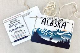 Alaska Save The Date Cards