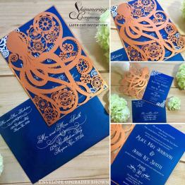 Laser cut wedding invitations by Shimmering Ceremony on Offbeat Bride (5)