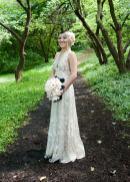 floral veil fascintor on offbeat bride