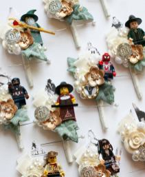 lego corsages by maddison rocks