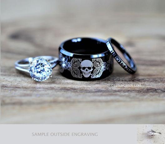 C9TTUNGSTEN custom engraved wedding rings (10)