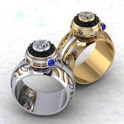 Paul Michael Design Geek Dot Jewelry on Offbeat Bride (2)