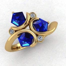 Paul Michael Design Geek Dot Jewelry on Offbeat Bride (8)
