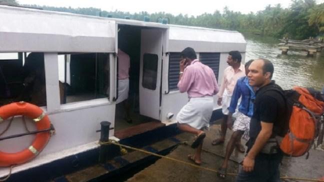 Local boat transport in Kerala backwaters of Valiyaparamba & Payyanur: Unexplored Kerala Backwaters: Kerala Tourism