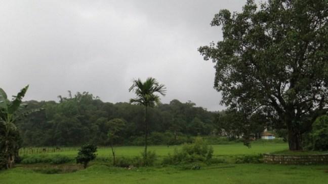 View from Bhagamandala Temple, on way to Talakaveri, Coorg, Karnataka Tourism