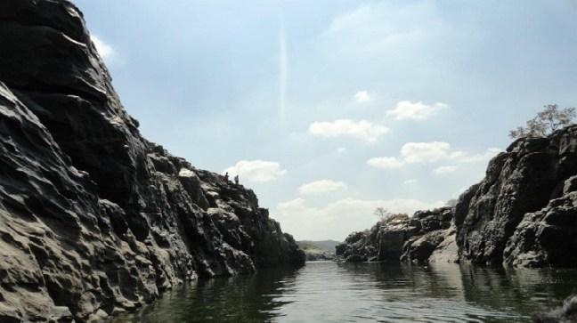 Gorge after Hogenakkal falls Tamilnadu