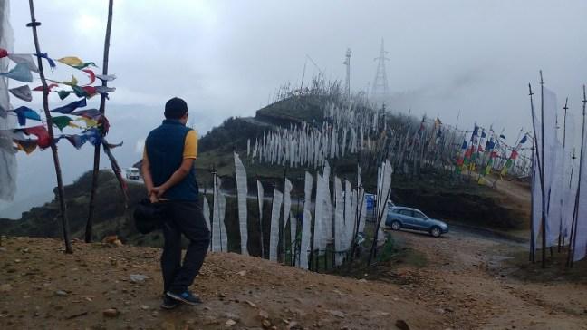 A walk through the prayer flags at Chele La Pass, Cheli La Pass, Bhutan Tourism, Places to visit in Bhutan, Bhutan Passes, Bhutan Tourism, Dantak Project