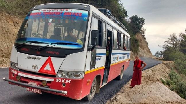 Bus ride in Bhutan: love, fun and exploration, Bhutan Budget travel, Coaster buses in Bhutan, Bhutan backpacking