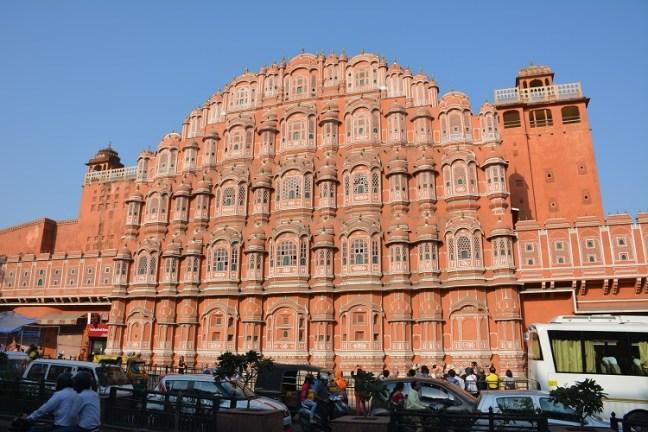 Hawa Mahal in Johari Market Jaipur Rajasthan