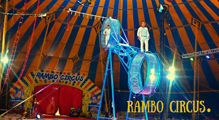 Image result for rambo circus