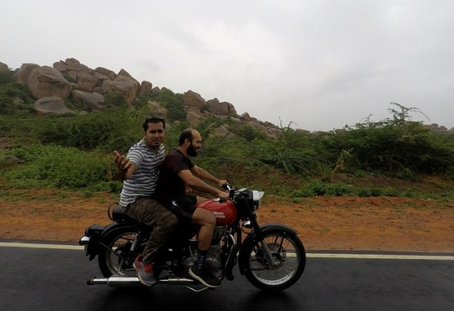 Hampi in monsoon: Temples, Ruins, bike ride and Hippie fun during monsoon