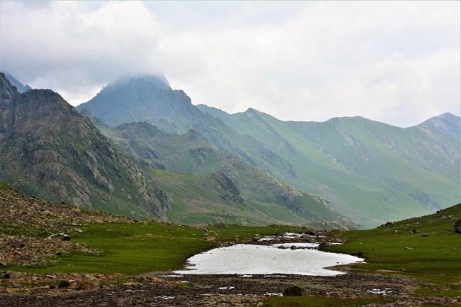 Vishnusar Lake to Gadsar Camp-site (Via Kishansar Lake and Gadsar Lake) - Kashmir Great Lakes Trek is one of the most beautiful treks in India -Indiahikes
