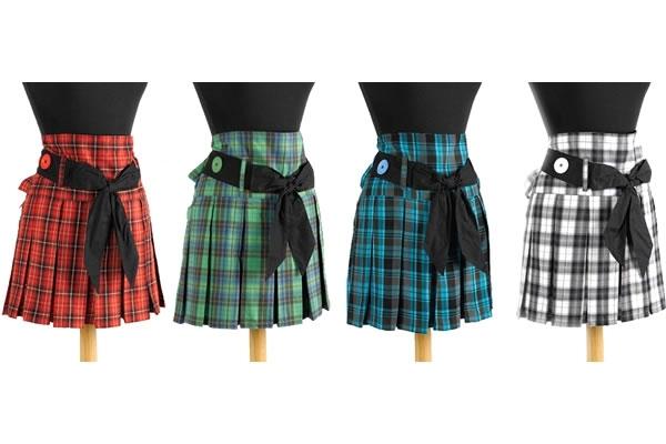 Plaid Skirt Apron -- $23.95
