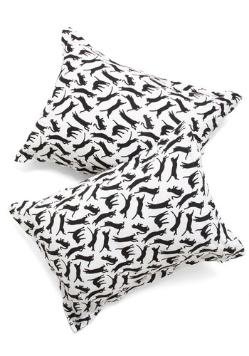 Yours, Mine, and Noir's pillowcase set, $30.