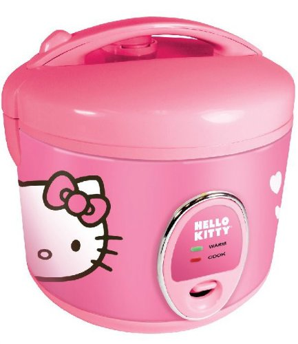 Have you noticed that I include a Hello Kitty option in almost every appliance round-up I do? It's amazing, but a you can also get a Hello Kitty Rice Cooker for $45.