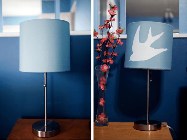 bird lamp diy