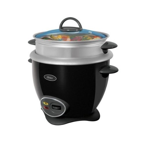 How 'bout a rice cooker that's black like your heart? Oster 14-Cup Rice Cooker, Black -- $24.98