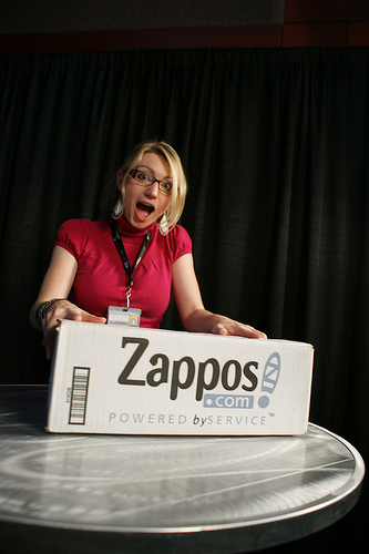 How do you avoid the lure of the Zappos box!? (By: Magnify.net - CC BY 2.0)
