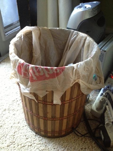 grocery bag trash can liner