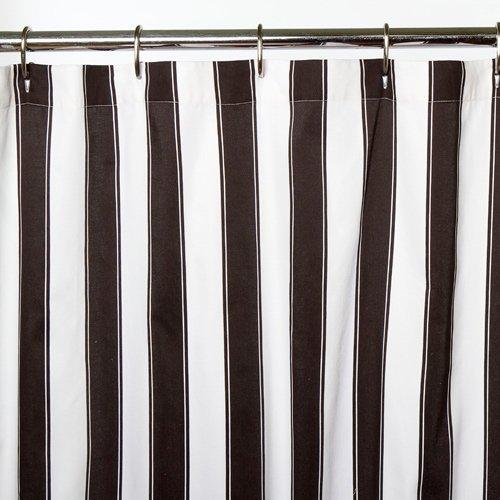 Sin in Linen Big Top Stripes Shower Curtain