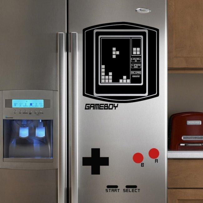 tetris fridge decal