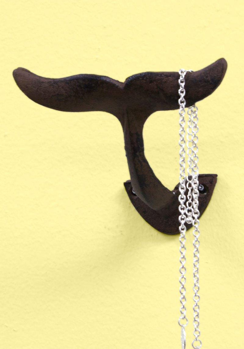 Whale (or mermaid?) tale hook