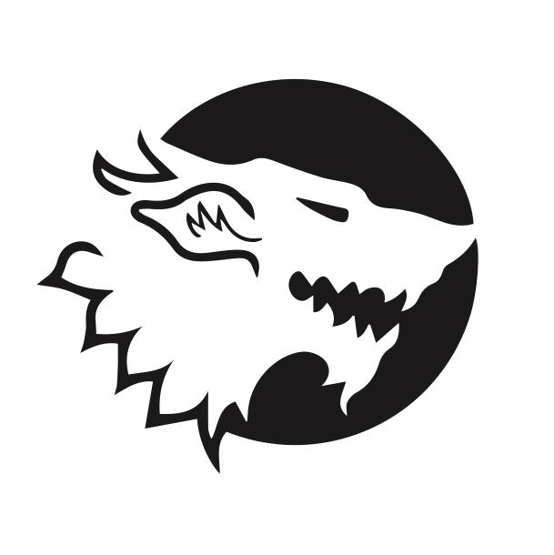 direwolf logo