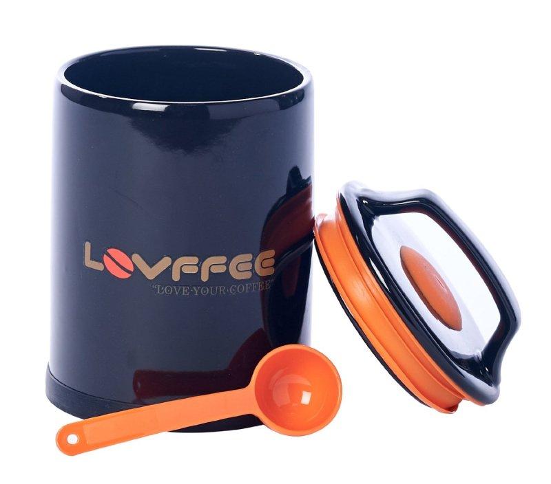 LOVFFEE Ceramic Premium Coffee Canisters