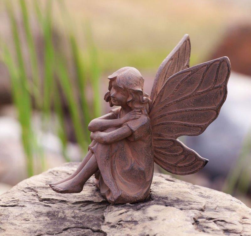 Earth Fairy Aura Garden Statue