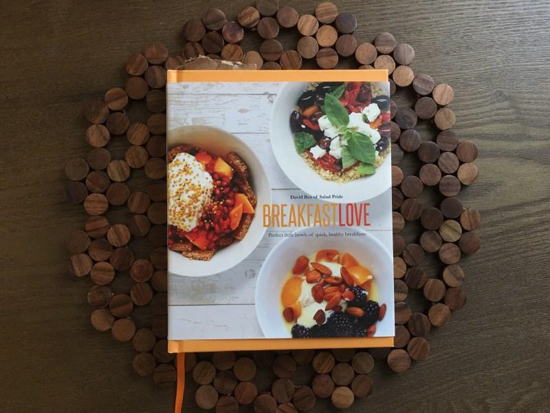 My heavily book-marked copy of Breakfast Love.