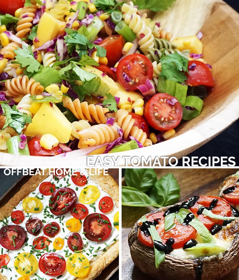 Easy tomato recipes as seen on @offbeathome